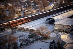Eisenbahn in Chisinau, Moldau Lizenzfreie Stockfotografie