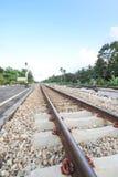 Eisenbahn im Blickfeld Lizenzfreie Stockbilder