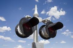 Eisenbahn-Lichter Stockbild