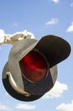 Eisenbahn-Lichter Stockfotografie