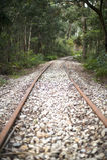 Eisenbahn in Lithgow Australien Lizenzfreie Stockfotos