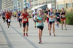 Eisenbahn-Marathon 2014 Stockbild
