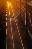 Eisenbahn-Spur Stockfoto