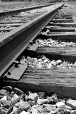 Eisenbahn-Spuren Stockfoto