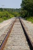 Eisenbahn-Spuren Stockbilder
