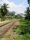 Eisenbahn in Sri Lanka Lizenzfreies Stockbild