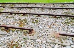 Eisenbahn-Staatsangehörig-historische Stätte Allegheny Portage stockbild