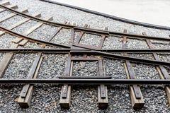 Eisenbahn-Verzweigung Lizenzfreie Stockfotografie