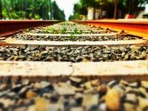 Eisenbahnbahn Stockbild