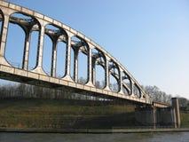 Eisenbahnbrücke 1 Stockbilder
