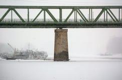 Eisenbahnbrücke Lizenzfreies Stockfoto