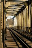 Eisenbahnbrücke Lizenzfreie Stockfotos