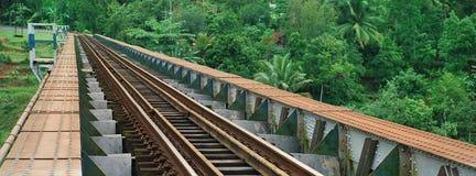 Eisenbahnbrücke Stockfotografie