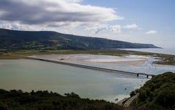 Eisenbahnbrücke Barmouth Lizenzfreies Stockbild