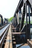 Eisenbahnbrücke des Zugs Lizenzfreie Stockfotos