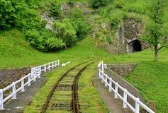 Eisenbahnbrücke in Rumänien stockfotografie