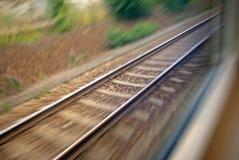 Eisenbahnlinie Lizenzfreie Stockfotografie