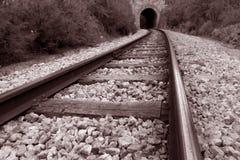 Eisenbahnlinie Stockfotografie