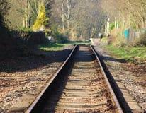 Eisenbahnlinie. Stockfoto