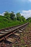 Eisenbahnlinie in der Landschaft Lizenzfreie Stockfotografie