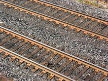 Eisenbahnlinien Lizenzfreie Stockbilder