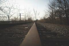 Eisenbahnschuß Stockfotos
