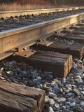 Eisenbahnschwelle-Norwich-Universität lizenzfreie stockbilder