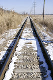 Eisenbahnspur Lizenzfreies Stockfoto