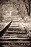 Eisenbahnspur stockbild