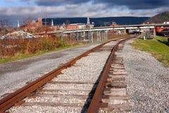 Eisenbahnspuren Lizenzfreie Stockfotos