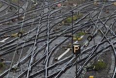 Eisenbahnspuren Lizenzfreies Stockbild