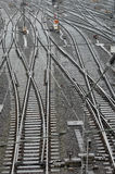 Eisenbahnspuren Lizenzfreie Stockfotografie