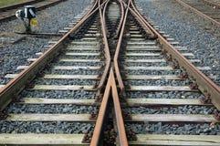 Eisenbahnspuren Lizenzfreie Stockbilder