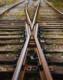 Eisenbahnspuren Stockfotos
