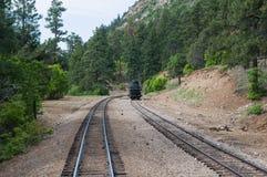 Eisenbahnspuren Stockfoto