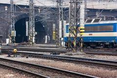 Eisenbahntunnel Stockfotos