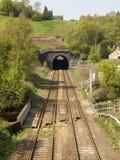 Eisenbahntunnel bei Walsden stockbilder