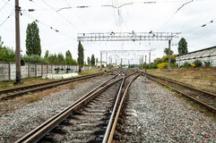 Eisenbahnzug Lizenzfreie Stockfotografie