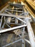 Eisenbinder in einer Station stockbilder