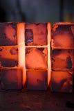 Eisenblöcke lizenzfreies stockfoto