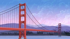Eisenbrücke Lizenzfreie Abbildung