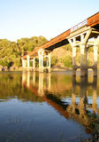 Eisenbrücke stockfoto