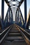 Eisenbrücke Adana die Türkei stockbild