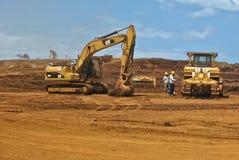 Eisenerz-Bergbau Lizenzfreies Stockbild