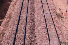 Eisenerzanschluß Sishen Saldanha, Westkap, Südafrika Stockfotografie