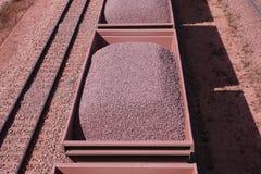 Eisenerzversand Sishen Saldanha, Westkap, Südafrika Stockfotografie