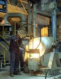 Eisengießerei lizenzfreies stockfoto