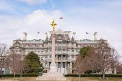 Eisenhower Exectutive Office Building. Eisenhower Executive Office Building in Washington, DC stock image