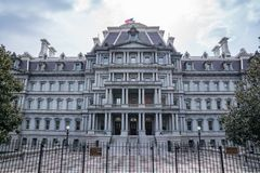 Eisenhower Exectutive Office Building. Eisenhower Executive Office Building in Washington, DC stock images