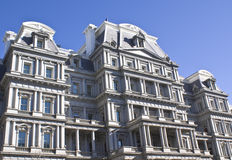 Eisenhower Executive Building. Captured on sunny day stock images